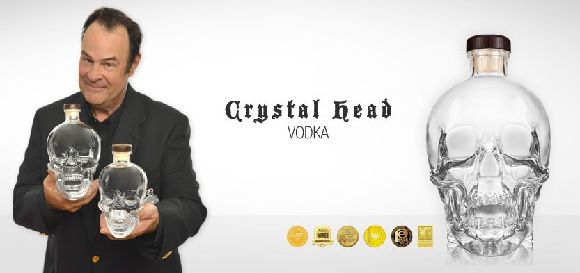 The Crystal Head Vodka collection