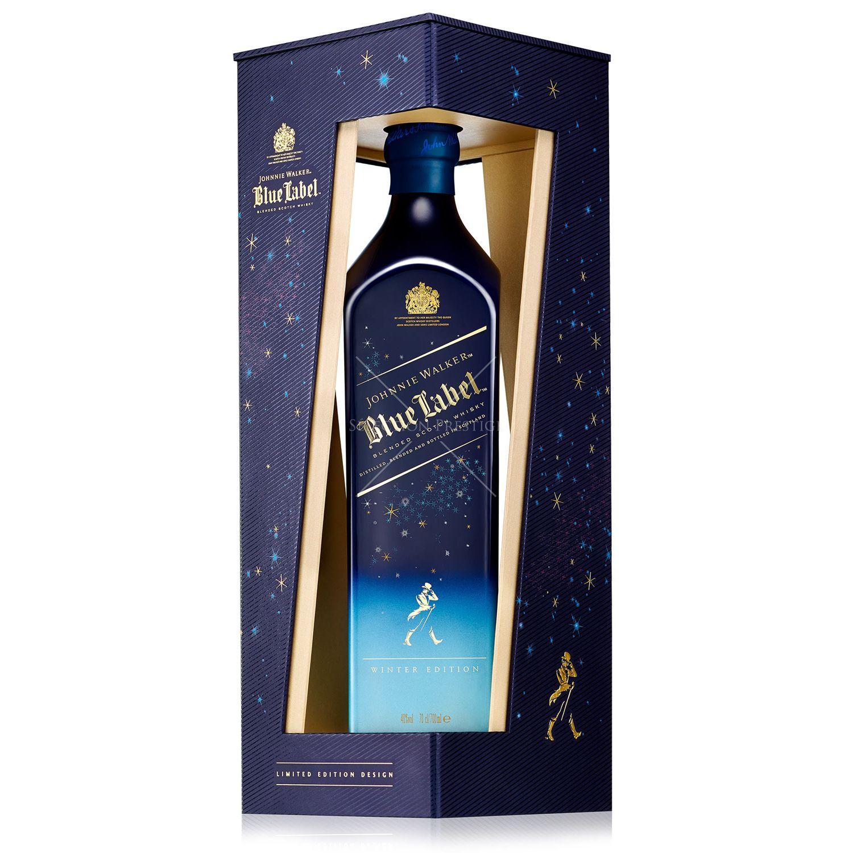 johnnie walker blue label winter edition 0 7l 40 vol johnnie walker whisky. Black Bedroom Furniture Sets. Home Design Ideas