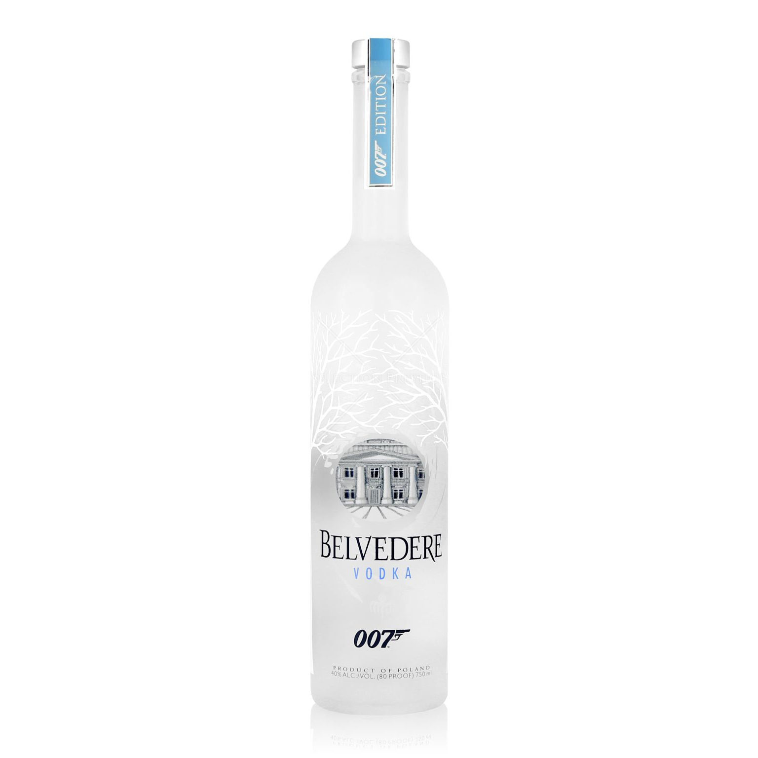 belvedere vodka 007 spectre bottle 0 7l 40 vol belvedere vodka. Black Bedroom Furniture Sets. Home Design Ideas