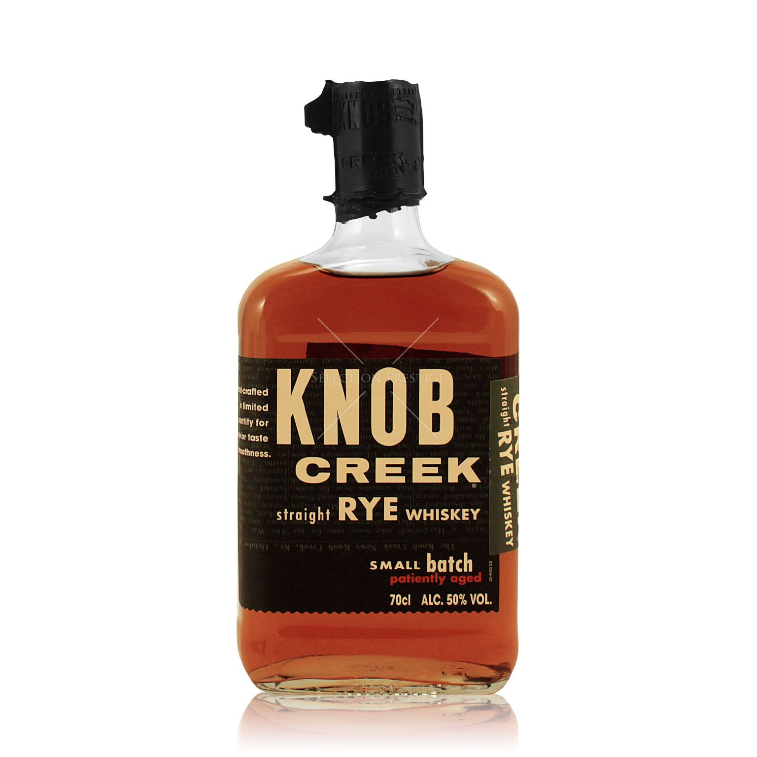 Knob Creek Kentucky Straight Rye Whiskey Small Batch 0.7L ...