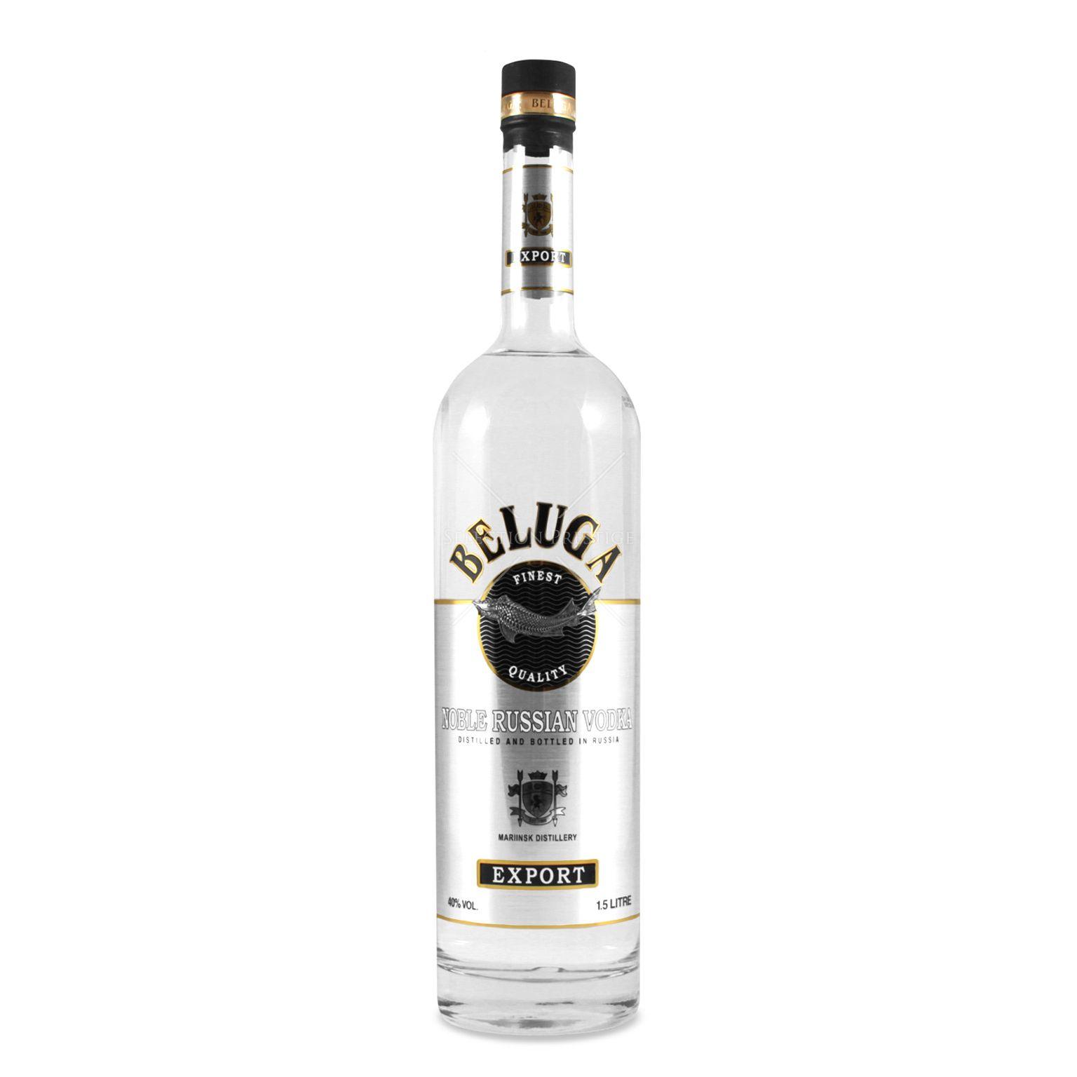 Beluga Noble Russian Vodka 1,5L (40% Vol.) - Beluga - Vodka