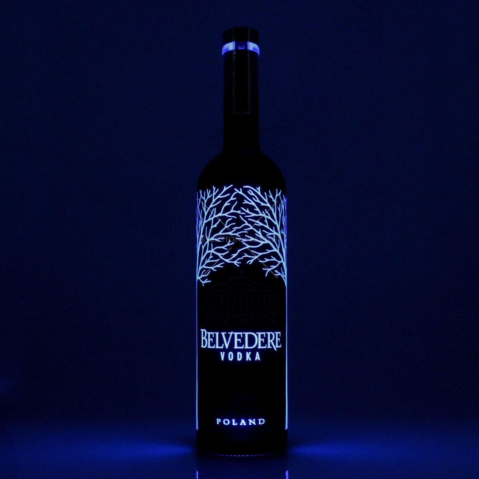 Belvedere Vodka Midnight Sabre 1 75l 40 Vol