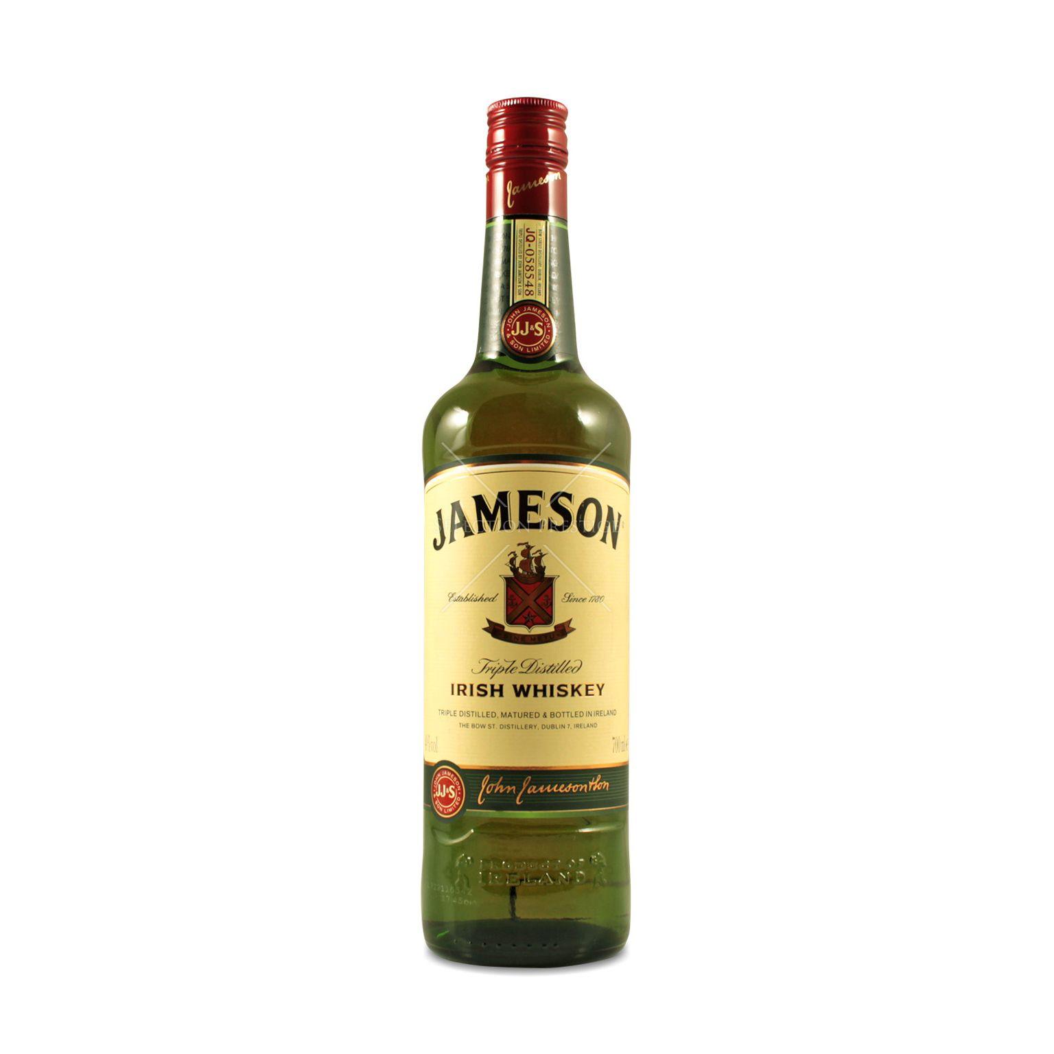 Jameson Triple Distilled Irish Whiskey 0 7L (40% Vol )