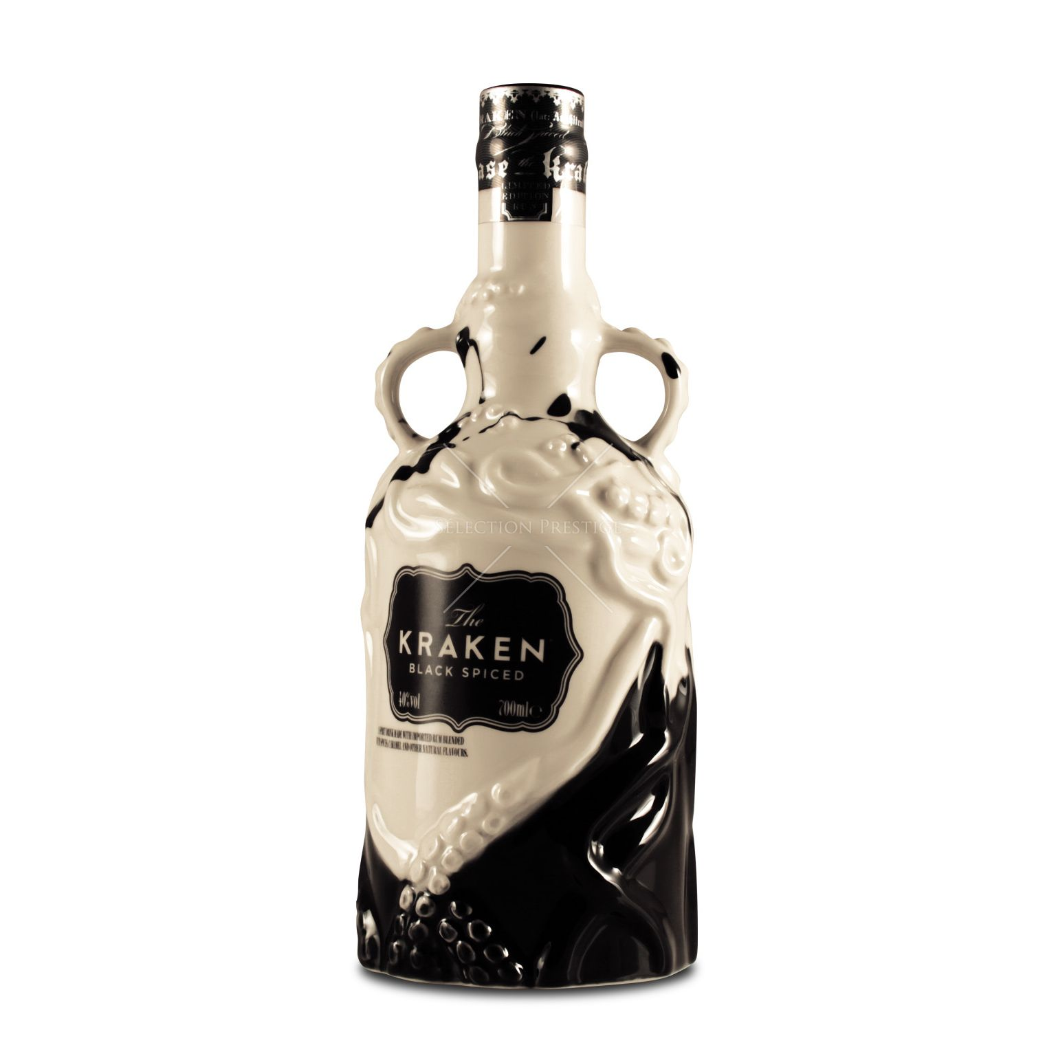 The kraken black spiced rum limited black white ceramic - Kraken rum pictures ...