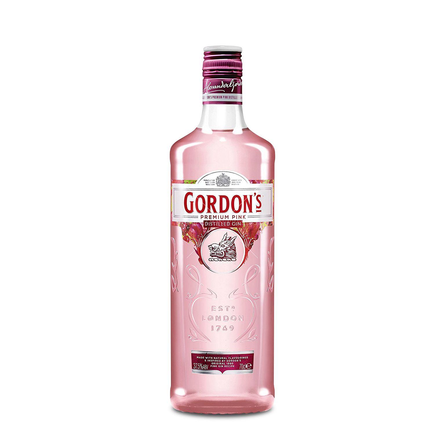 Gordon S Premium Pink Gin 0 7l 37 5 Vol Gordon S Gin