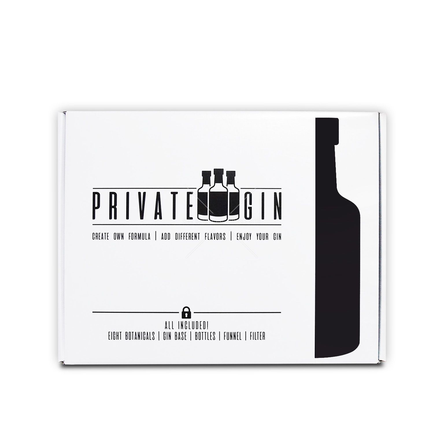 Private gin make your own gin kit 045l 40 vol private gin 8 botanicals private gin box 05l 40 vol inkl solutioingenieria Gallery