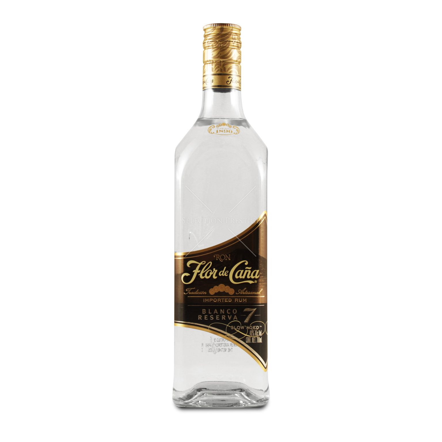 Flor De Caña Blanco Reserva 07l 40 Vol Flor De Caña Rum