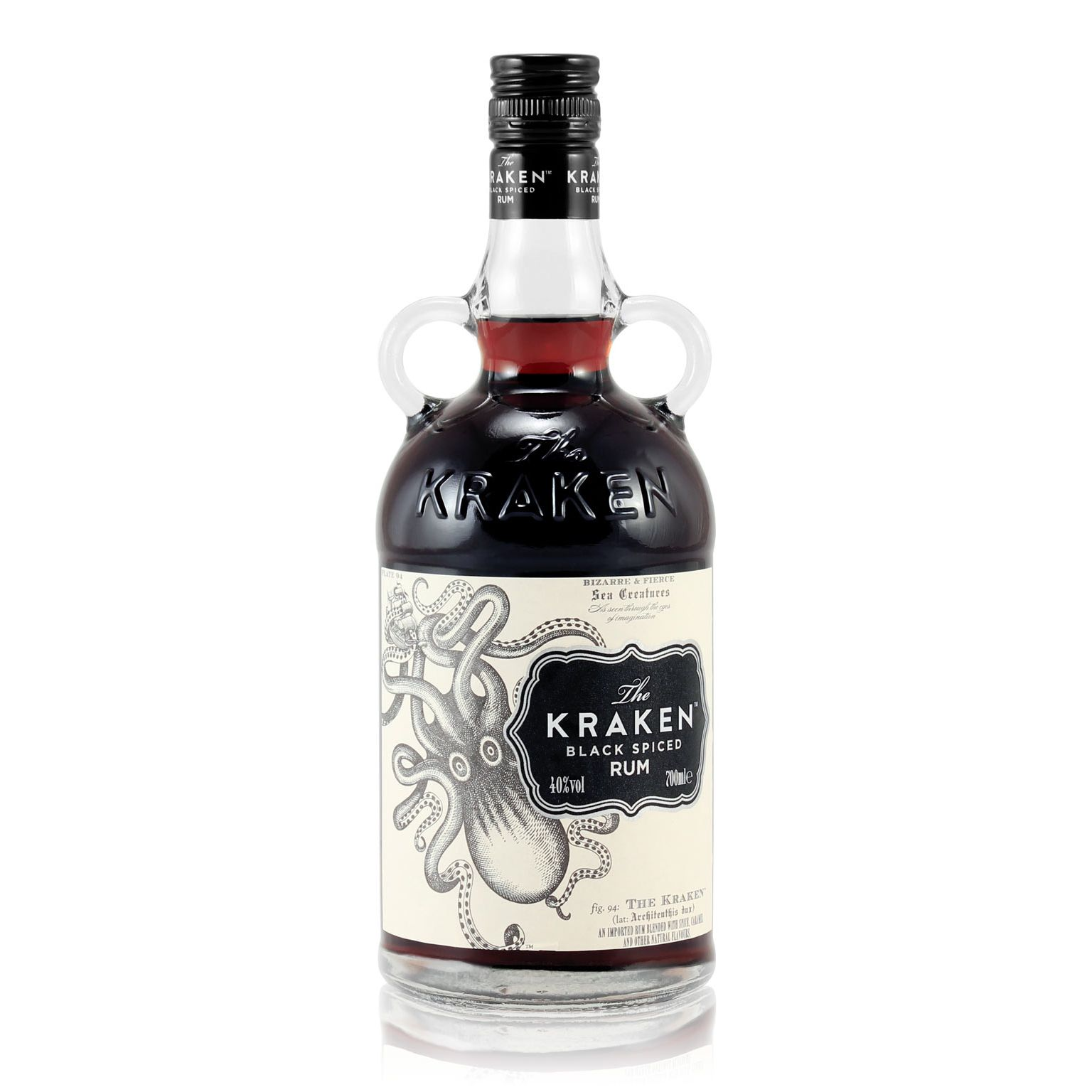 The kraken black spiced rum 0 7l 40 vol the kraken rum - Kraken rum pictures ...