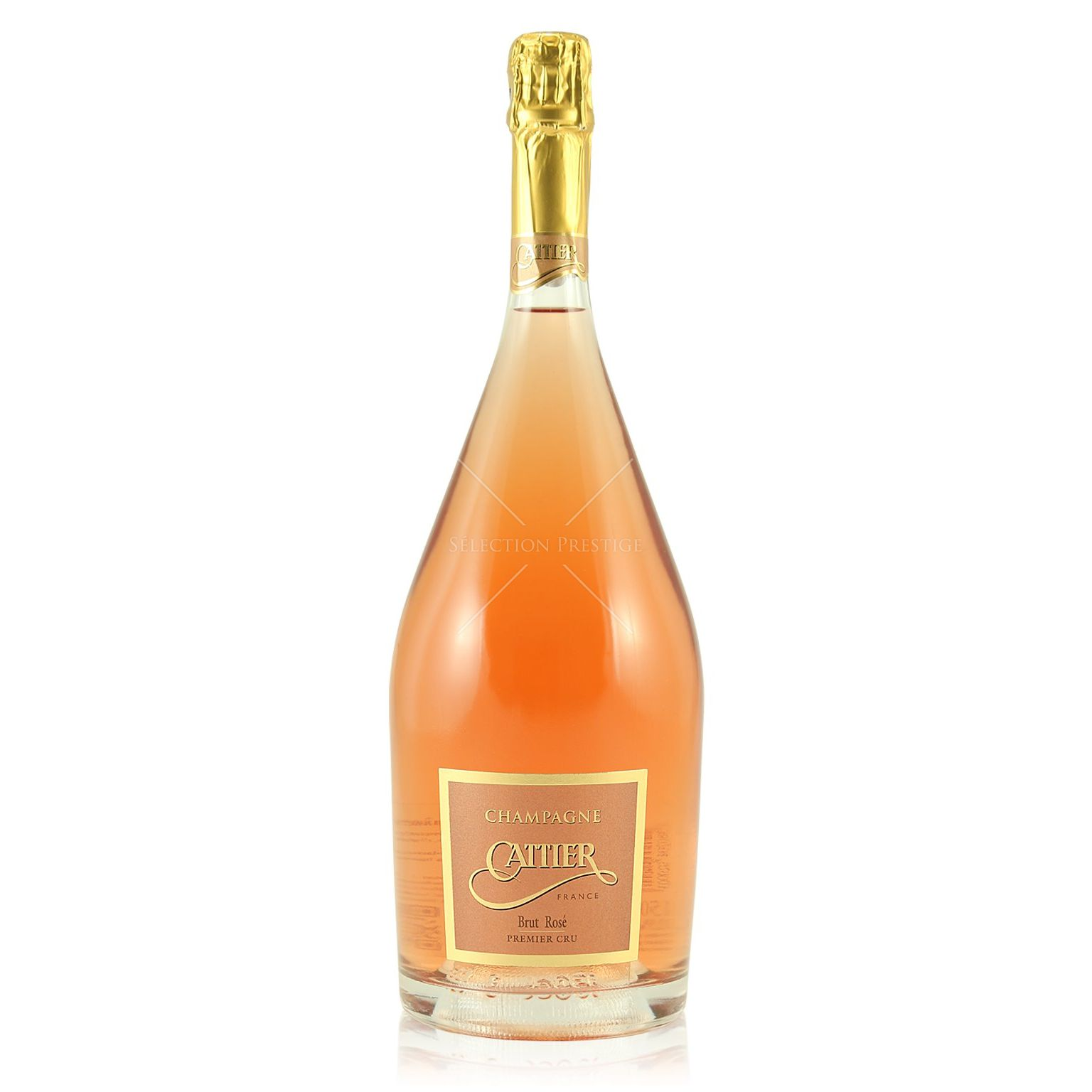 Cattier brut ros premier cru magnum 1 5l 12 5 vol for What is rose champagne