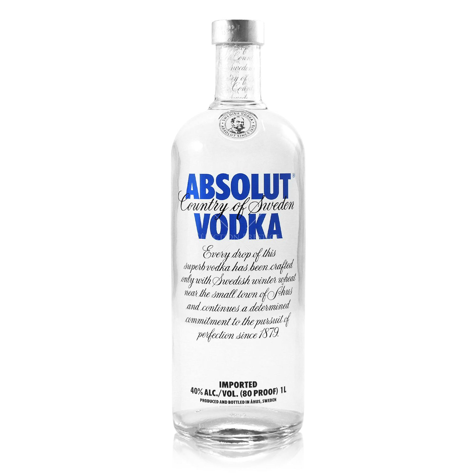 absolut vodka 1 0l 40 vol absolut vodka. Black Bedroom Furniture Sets. Home Design Ideas