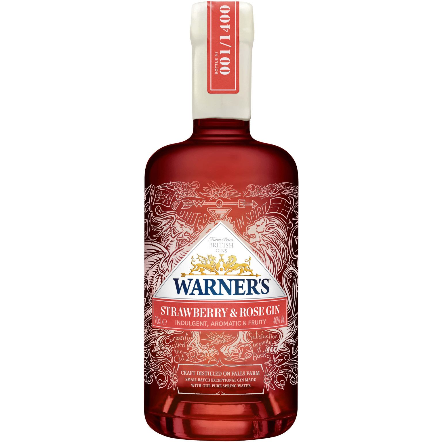 Warner Edwards Strawberry & Rose Gin 20,20L 420 Vol.