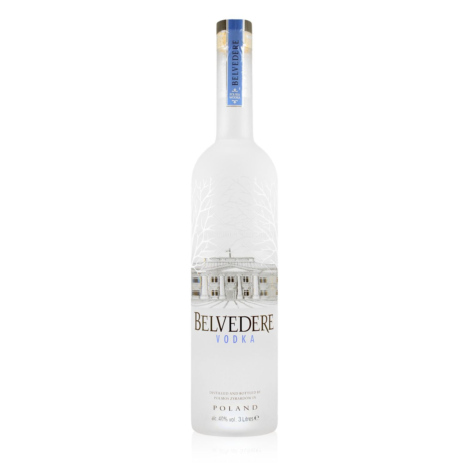 belvedere vodka 3 0l light up bottle 40 vol belvedere vodka. Black Bedroom Furniture Sets. Home Design Ideas