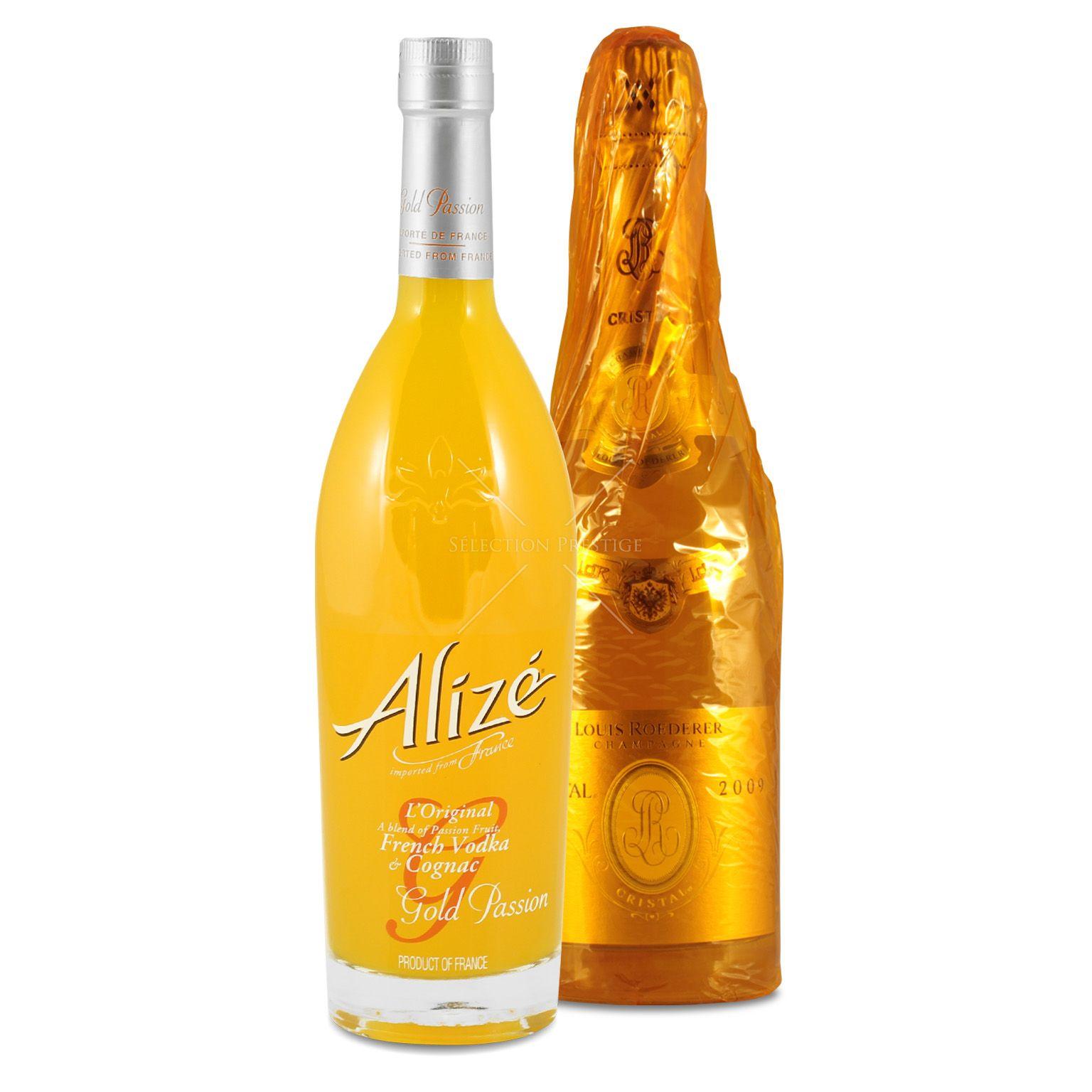 Thug Passion (Cristal 0 75L (12% Vol ) + Alizé Gold 0 7L (16% Vol ))