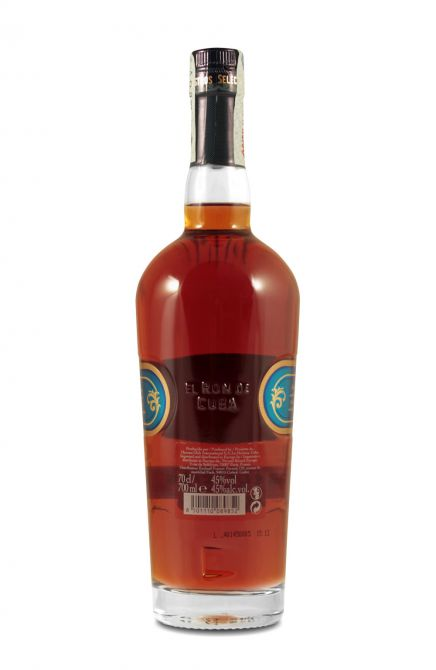 Frisk Havana Club Selección de Maestros 0,7L (45% Vol.) with engraving VL-72