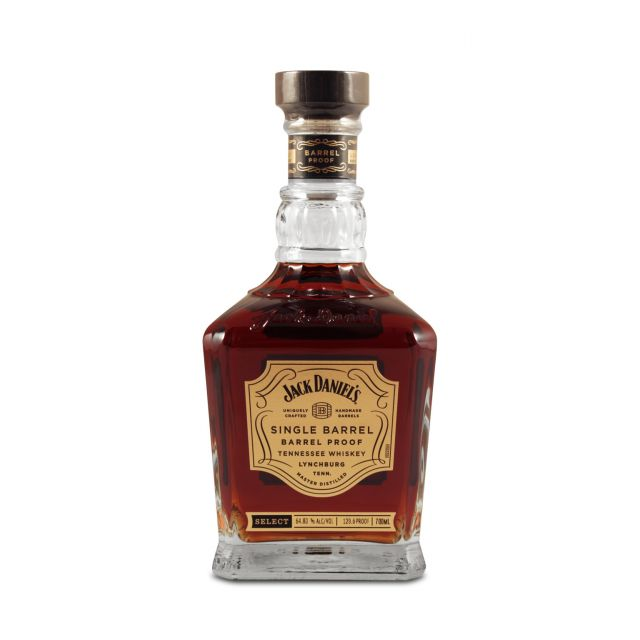 Jack Daniel's Single Barrel Barrel Proof Whiskey 0.7L (65.2% Vol.)