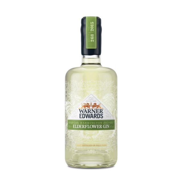 Warner Edwards Elderflower Gin 0,7L (40% Vol.)
