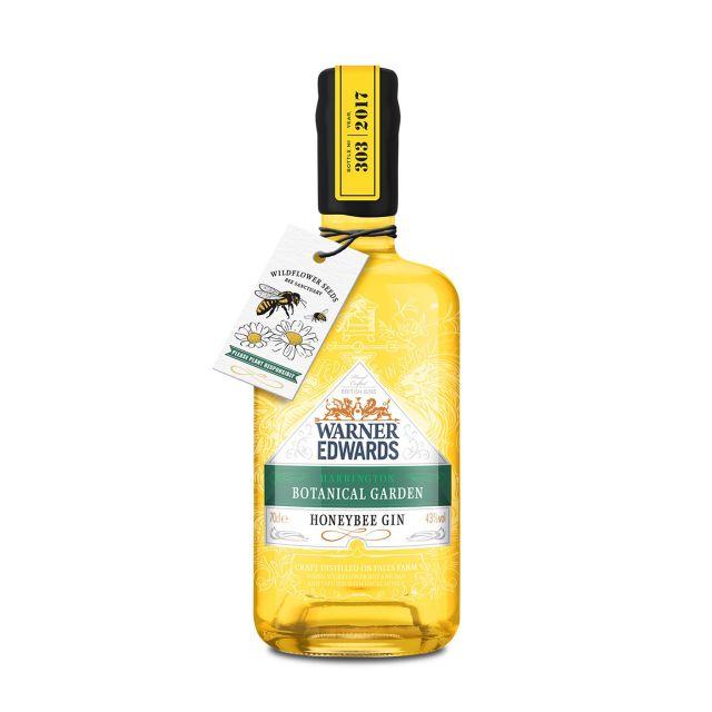 Warner Edwards Botanical Garden Honeybee Gin 0,7L (43% Vol.)