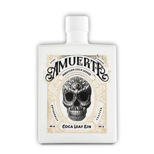 Amuerte Gin White Edition 0,7L (43% Vol.) mit Gravur