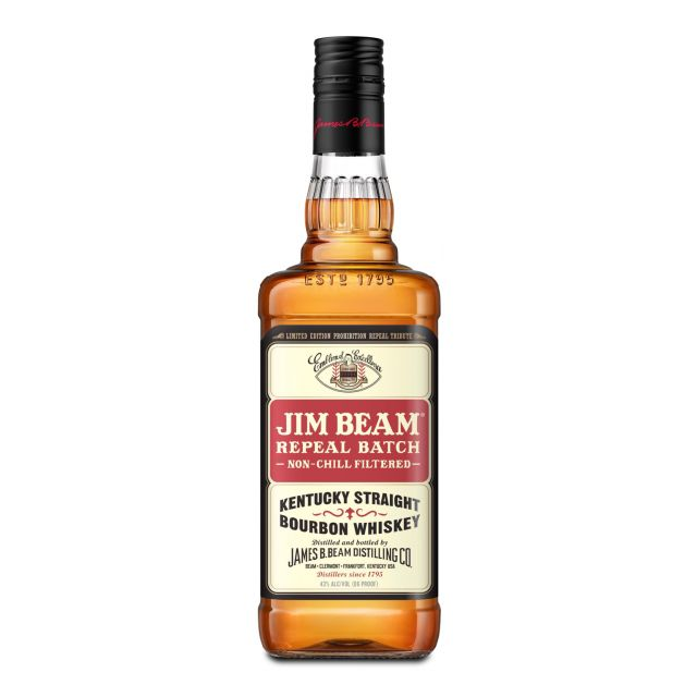 Jim Beam Repeal Batch Bourbon Whiskey 0,7L (43% Vol.)