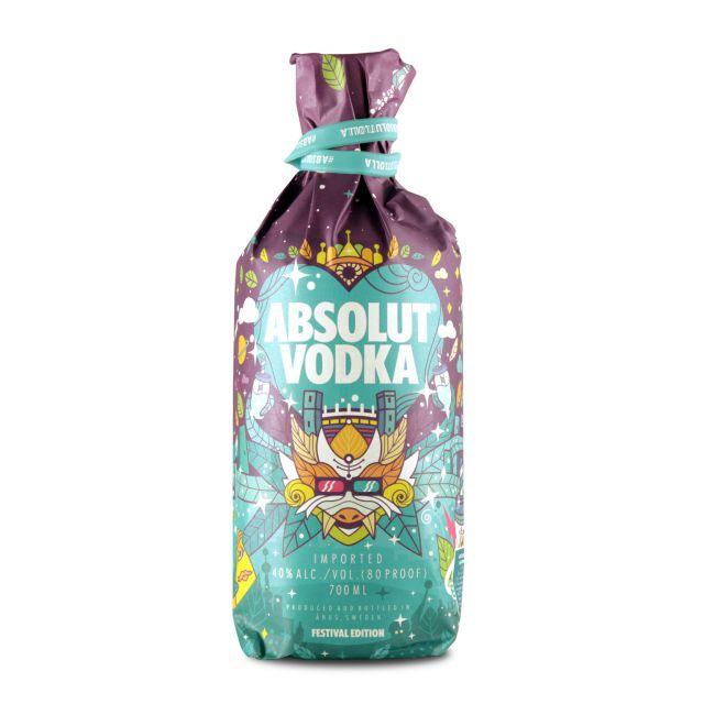 Absolut Vodka Lollapalooza Festival Edition 2018 0,7L (40% Vol.)
