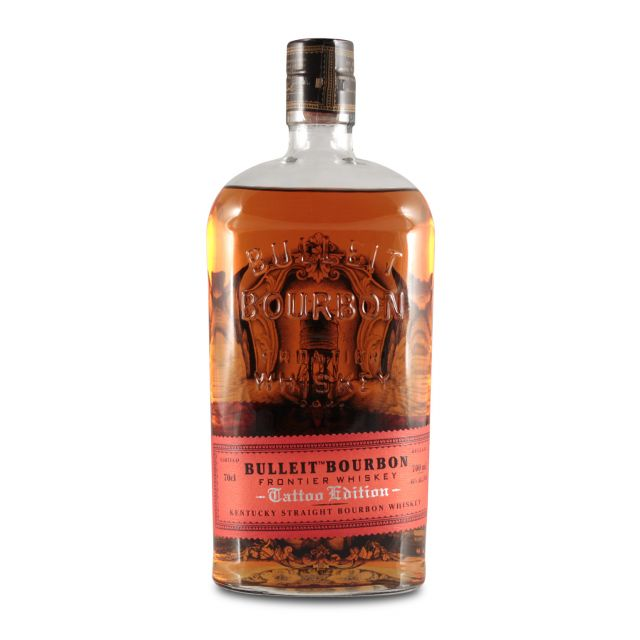 Bulleit Bourbon Frontier Whiskey Tattoo Edition 0,7L (45% Vol.)