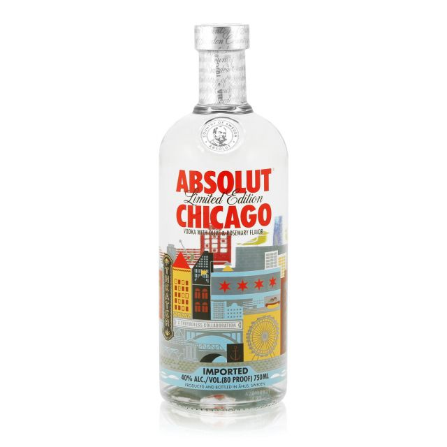 Absolut Chicago Limited Edition 0,7L (40% Vol.)