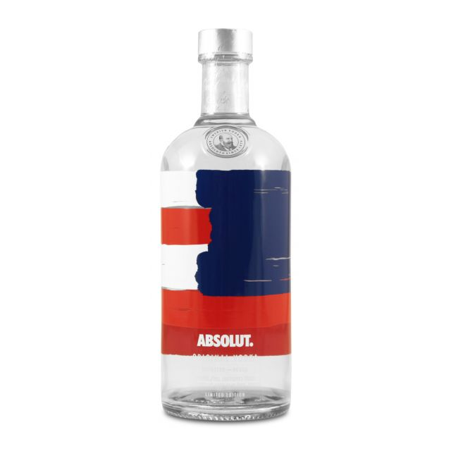 Absolut Vodka America Unity Limited Edition 0,7L (40% Vol.)
