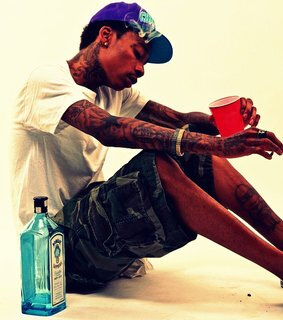 Wiz Khalifa Loves Classic Champagne And Gin